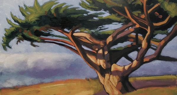 arbre bord de mer