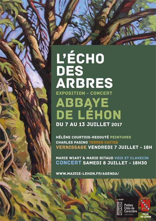 Exposition abbaye Léhon - L'Echo des arbres