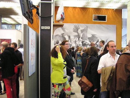 vernissage artcité 2015 à l'hôtel de ville de Fontenay-sous-bois