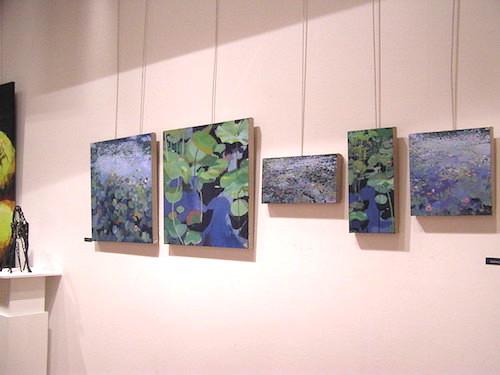 tableaux de Delphine Lacroix nénuphars