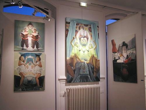 tableaux de Raphaëlle de Gastines artcité 2015