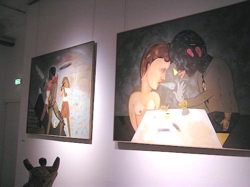 peinture de Pierre dessons Artcité 2015