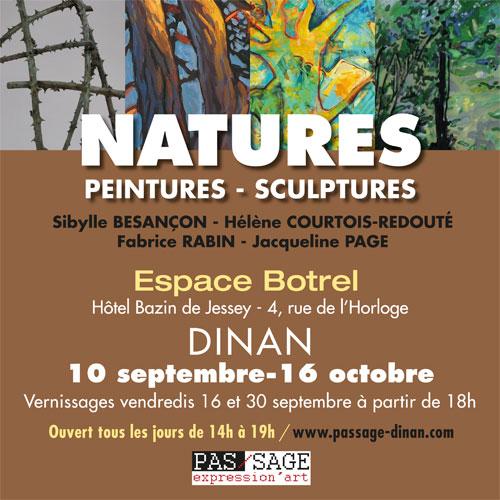 Exposition «Natures» à l'Espace Botrel à Dinan