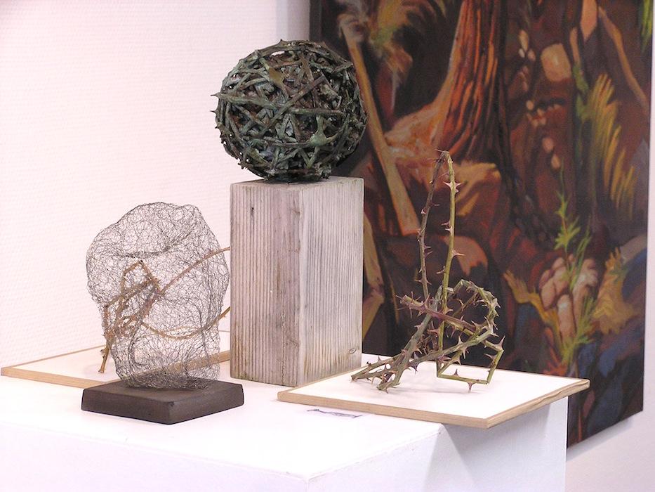 boule en ronce et bronze sibylle besançon