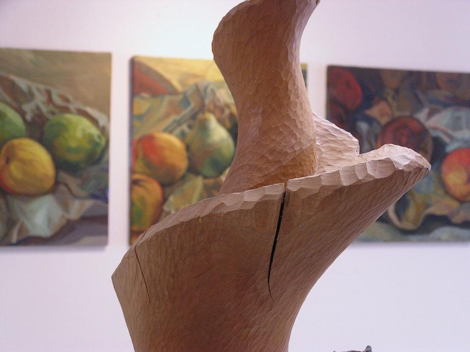 sculpture bois de Sibylle besançon