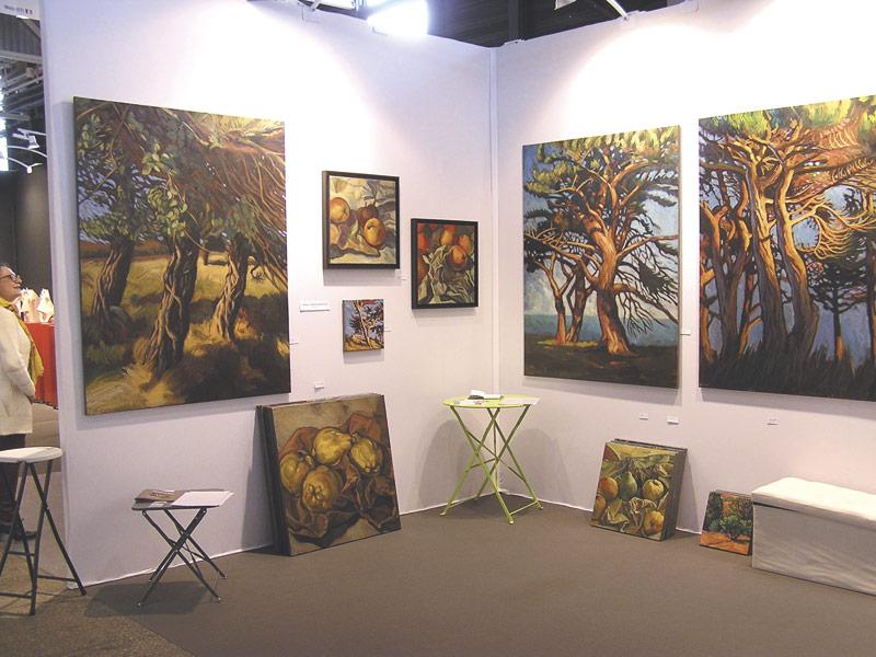 stand exposition peinture Art3F