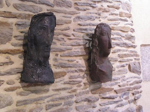 archeotypos deux terres cuites de charles pasino