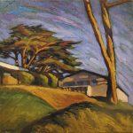 peinture paysage contemporaine hélène Courtois-Redouté peintre