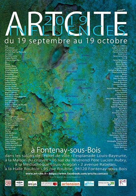 Salon ARTCITÉ 2019 à Fontenay-sous-Bois
