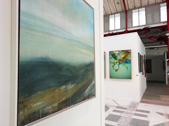 peinture sophie bassot, photographie Stéphane Mirbeau artcité 2019
